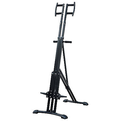 Adjustable Vertical Climber Cardio Exercise Stepper Folding Fitness Climbing