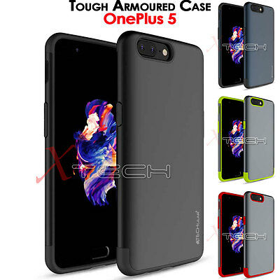 OnePlus 5 TOUGH ARMOURED Slim Fit Shock Proof Hard Protective Case Cover