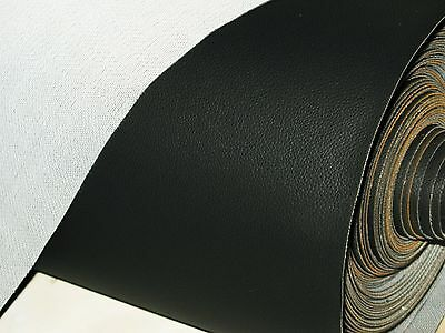 1 Mtr  Quality Black Stretch Strong Vinyl Upholstery Cars Motorcycle Seat /