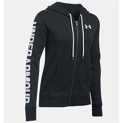 Felpa Donna Under Armour Favorite Fleece Full Zip Con Cappuccio