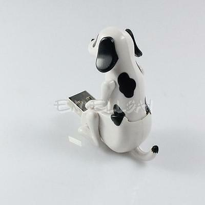 Portable Funny Cute Pet USB Humping Spot Dog Toy Christmas Gray Party Gift