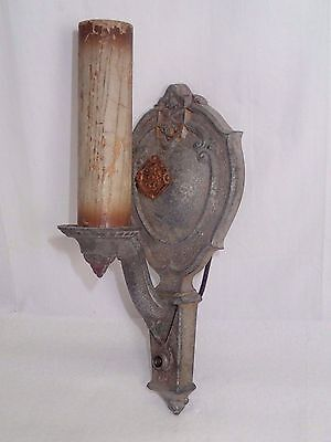 Vintage Riddle Co. Design One Lighted Wall Sconces #888