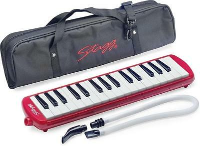 Stagg Melodica MELOST A32 (Red)
