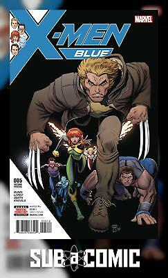 X-MEN BLUE #5 ART ADAMS VARIANT (MARVEL 2017 2nd Print) COMIC