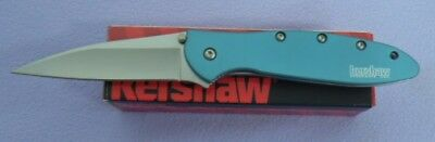 Kershaw Knife 1660Teal 1660 Leek Assisted Folder Ken Onion Usa Made New In Box!!