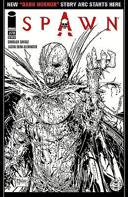 SPAWN #276 COVER C IMAGES OF TOMORROW VARIANT (IMAGE 2017 1st Print) COMIC