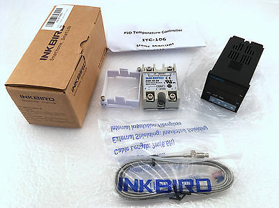 Inkbird °F and °C Display PID Stable Temperature Controller ITC 106VH