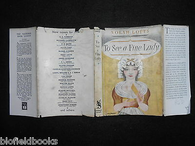 ORIGINAL Eric Fraser DUSTJACKET (ONLY) for To See A Fine Lady by Norah Lofts