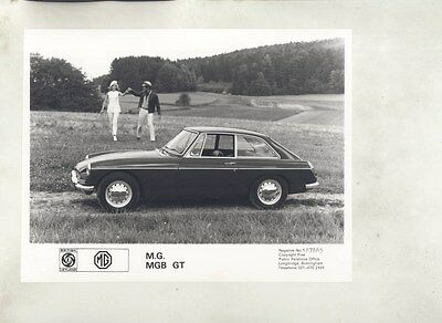 1968 ? MG MGB GT ORIGINAL Factory Photograph wy4198