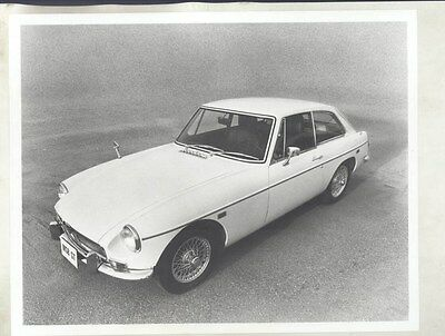 1969 MG MGB GT ORIGINAL Factory Photograph wy4206