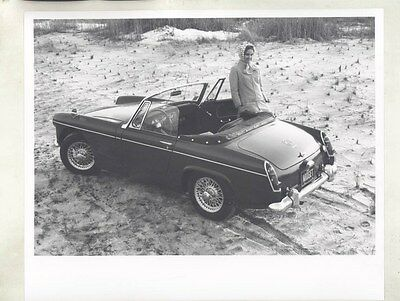 1964 ? MG Midget ORIGINAL Factory Photograph wy4230