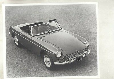 1968 MG MGB ORIGINAL Factory Photograph wy4288