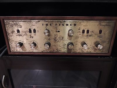 The Fisher X-100 integrated amplifier