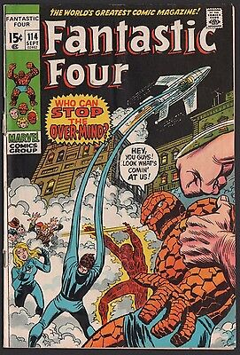 Lot of 10 Bronze Age Fantastic Four Comic Books 1971-1977