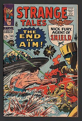 Strange Tales #149 F+ 6.5 Cream to Off White Pages