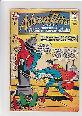 Adventure comics  #328  G  DC comic 1965 Legion Mon-el