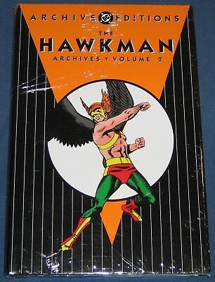Hawkman Volume #2  DC Archives  Still Sealed In Original Wrap  NM