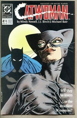 Catwoman #4-1989 nm+ 1st Catwoman series Batman Year One sequel Mindy Newell