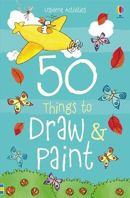 50 Things to Draw and Paint (Paperback), 9781409580218