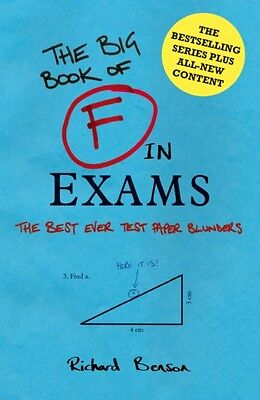 F in Exams: The Big Book of Test Paper Blunders (Hardcover), Benson, Richard, 9.