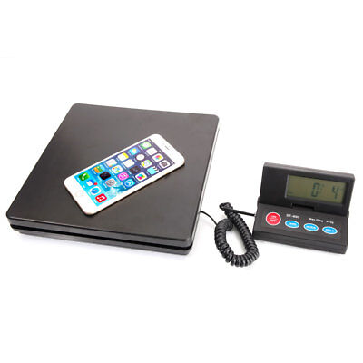 50KG 110lb Digial Postal Scale Kitchen Letter Parcel Weighing Platform Scales