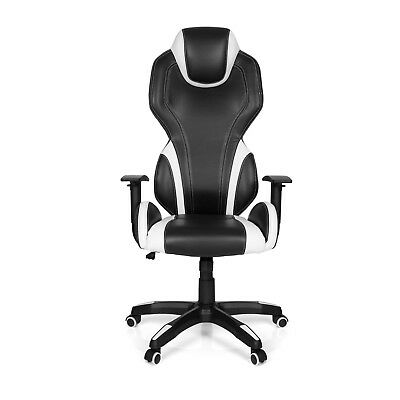 180° RECLINING GAMING CHAIR OFFICE SWIVEL SPORTS SEAT THE GAME PRO hjh OFFICE