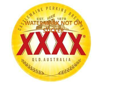 Xxxx Beer  Decal Sticker Label Large Dia 240 Mm Hot Rod Fridge Esky Tool Box