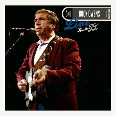 BUCK OWENS Live From Austin TX CD & DVD BRAND NEW 2017