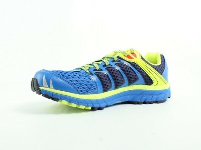 Inov-8 Road Claw 275 Blue/Lime/Navy Shoes Mens D New $120