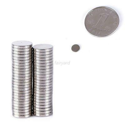 50-200pc N35/N50 Ultra Strong Round Disc Magnets Rare-Earth Neodymium Multi-size