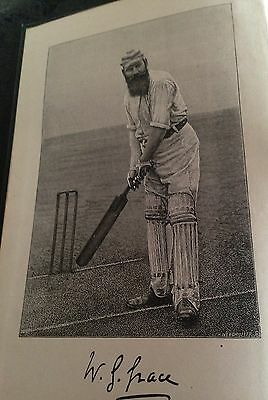 cricket - by w.g grace 1891