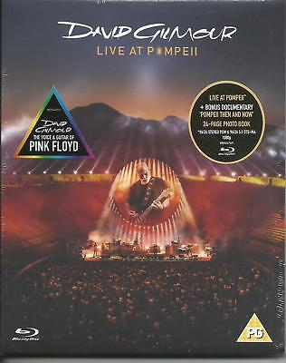 DAVID GILMOUR - Live at Pompeii (2017) Blu Ray dal 29/09/2017