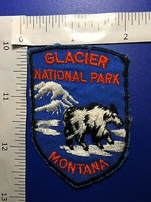 Glacier National Park Montana  Souvenir  Patch