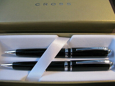 Cross LTD Executive Kingston Pen & Pencil Set NIB Black Best Price on ebay *SALE