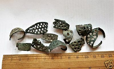 Parts of Antique Rings - Metal detecting finds. (k381)