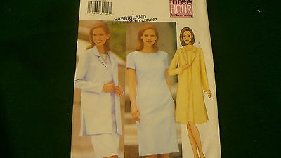 Butterick Fast & Easy jacket & dress Misses / petites no. 6455