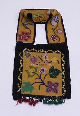 Chippewa - Great Lakes - Rare Beaded Childs Sized Bandolier Bag