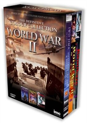 The Definitive World War 2 in Colour Triple DVD Box Set Containing Iwo Jima in .