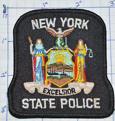 "New York State Police Dept 3.25"" Patch"