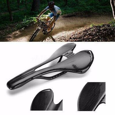 Full Carbon Fiber Seat MTB Road Bike Cycling Cushion Saddle Bicycle Light Weight