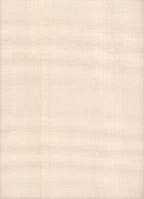 16 Count Zweigart Aida Cross Stitch Fabric Hint of Pink size 49x54cms