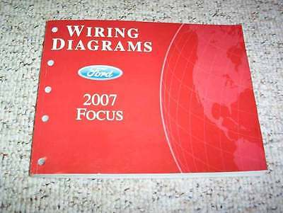 2007 ford focus electrical wiring diagram manual s se ses st 2 0l 2 3l 4cyl