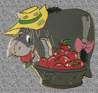 DISNEY AUCTIONS Pin LE 500 - Eeyore with Apples