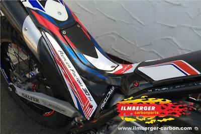 Ilmberger GLOSS Carbon Fibre Air Filter Box Seat Unit For Beta Trial Evo 2T 4T