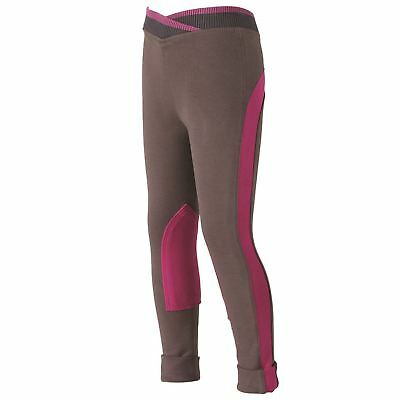 Harry Hall Kids Jenile Jodhpurs Girls Breeches Equestrian Pants Riding Bottoms