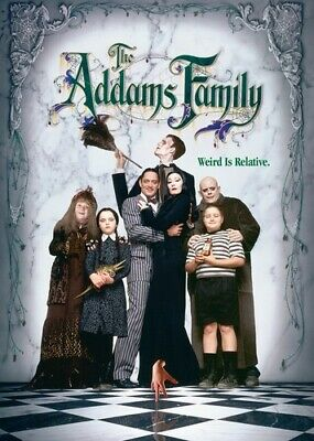 Addams Family (REGION 1 DVD New) 032429256294