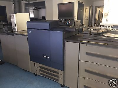 Konica Minolta Bizhub PRESS C8000 Printer LOW METER -multiple accessories avail
