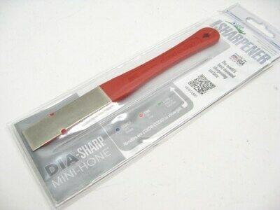 "DMT 2.5"" Fine Grit DIA-SHARP Knife Tool Sharpener Mini Hone DIAMOND Stone D2F"