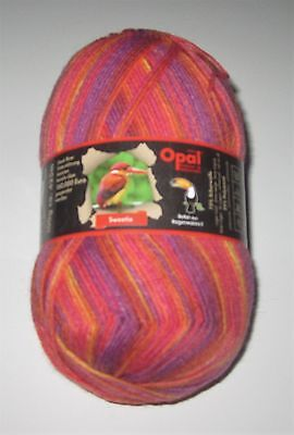 Fingering Weight Super #9446 Sunrise Melody of the Day Opal Sock Yarn 100G