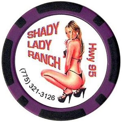 Brothel Chip - Shady Lady Ranch Beatty Nevada FREE SHIPPING